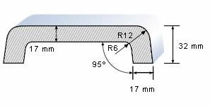 technický nákres - krycí desky Helopal EXCLUSIV